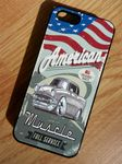 KOOLART AMERICAN MUSCLE CAR RETRO CHEVY BEL AIR Hard Case For Apple iPhone 5 5s